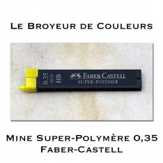 Mines Super-Polymère 9063 S-HB 0,35 - Faber-Castell