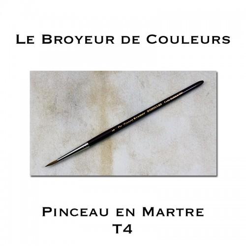 Pinceau Kolinsky Martre - T4