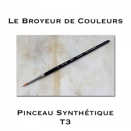 Pinceau Synthétique - T3