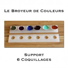 Support 6 Coquillages