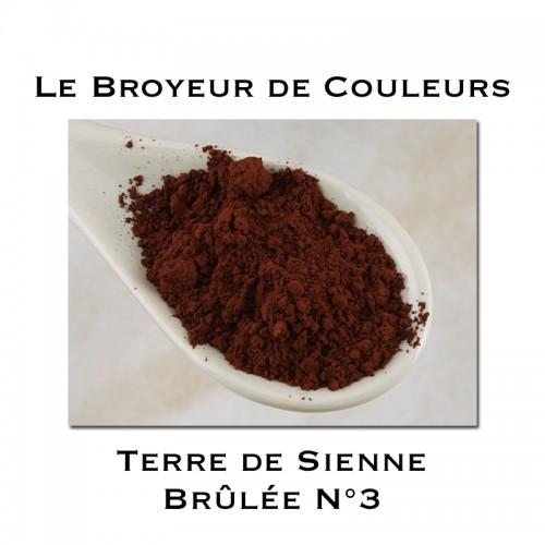 Pigment Terre de Sienne Brûlée 3