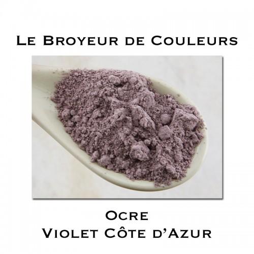 Pigment Ocre Violet Côte d'Azur