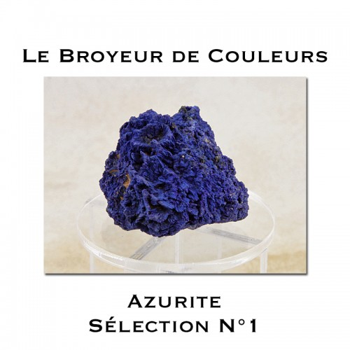 Minéral Azurite