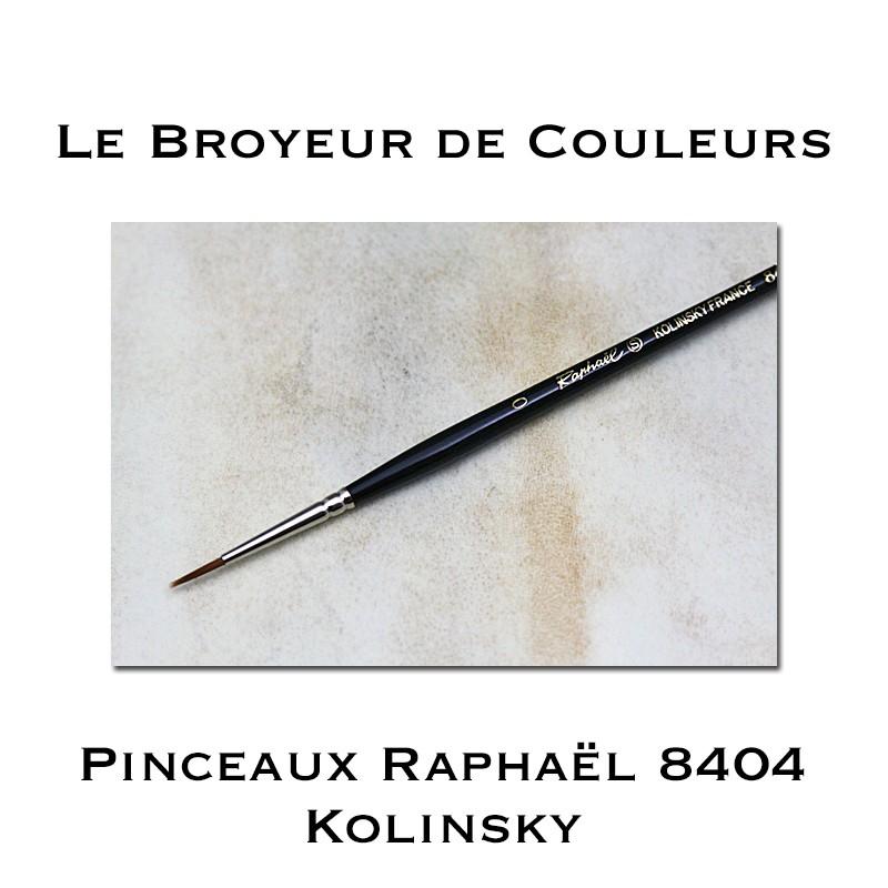 Pinceaux Raphaël 8404 - Kolinsky