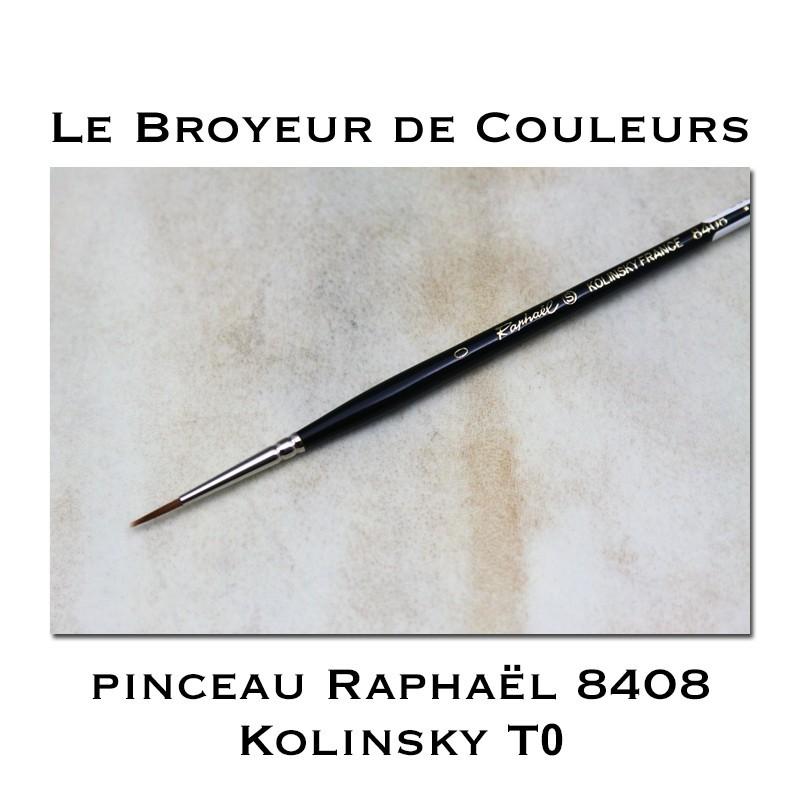 Pinceau Raphaël 8408 T0 Kolinsky