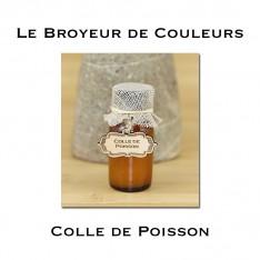 Colle de Poisson liquide + étiquette bois - 15ml
