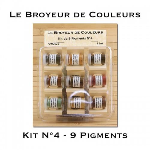 Kit N°4 - 9 Pigments