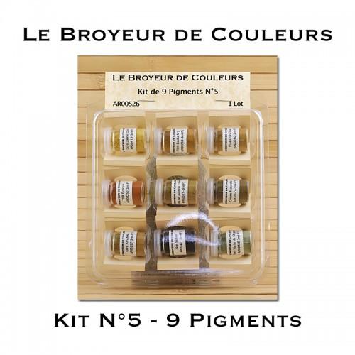 Kit N°5 - 9 Pigments