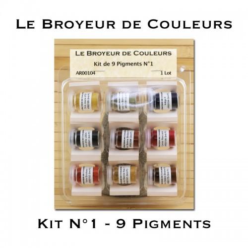Kit N°1 - 9 Pigments