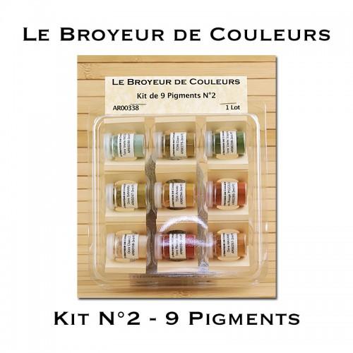 Kit N°2 - 9 Pigments