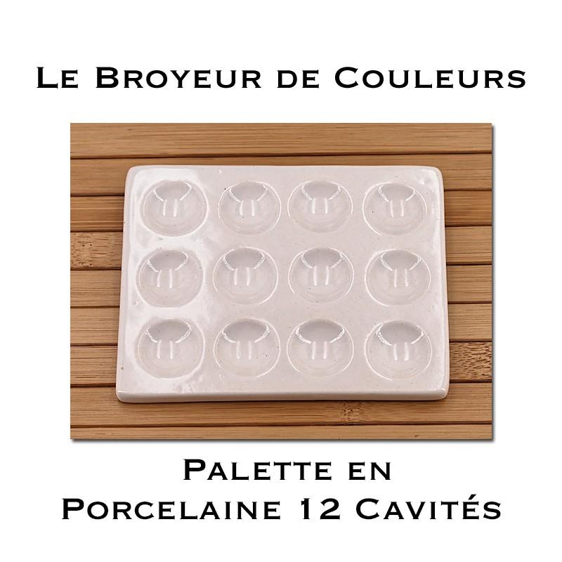 Palette en Porcelaine - 12 Cavités