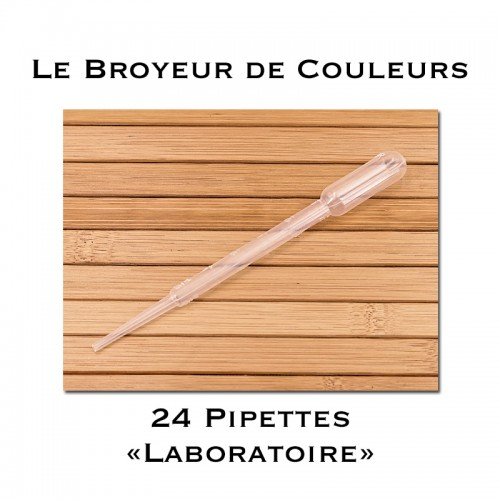 Lot de 24 Pipettes - 3 ml