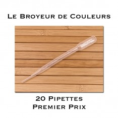 Lot de 20 Pipettes - 3 ml - Premier Prix