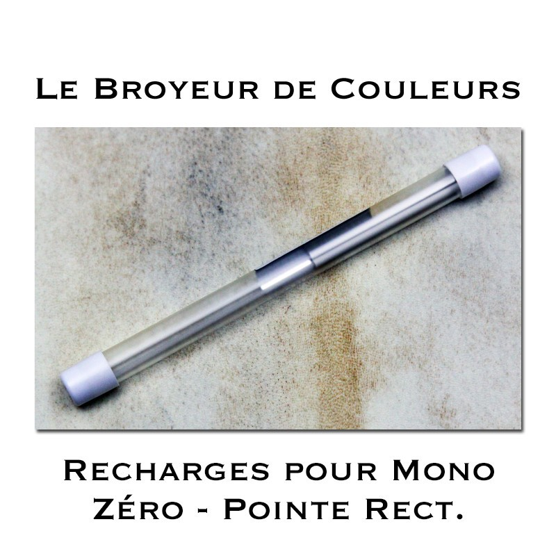 Recharges pour Crayon Gomme Mono Zéro Pointe rectangulaire