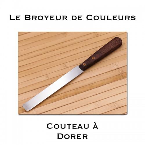 Couteau à dorer - Lame droite