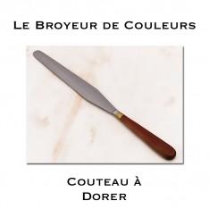 Couteau à dorer - Lame losange