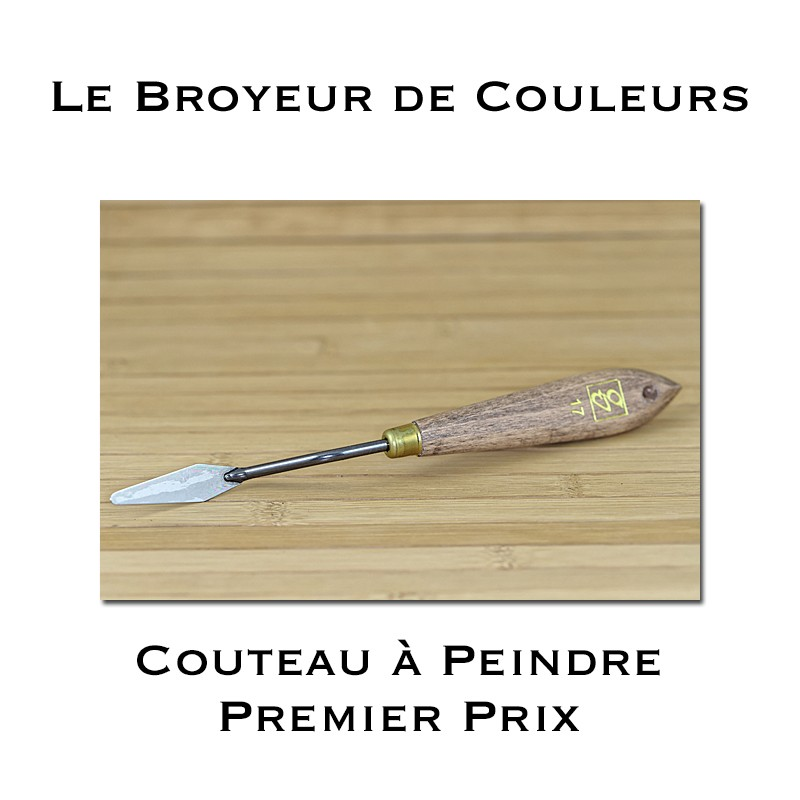Couteau à peindre - Premier prix