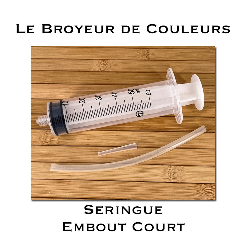 Seringue Embout Court - 60ml
