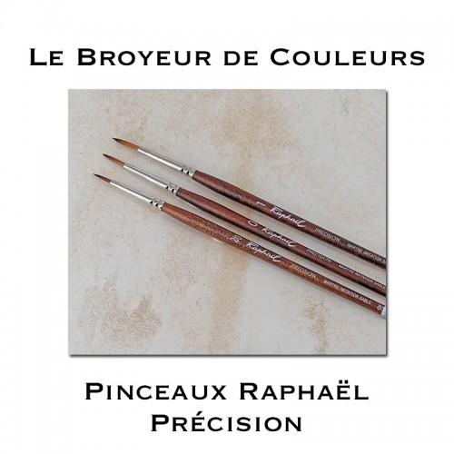 Pinceaux Raphaël Précision 8504 - Imitation Martre