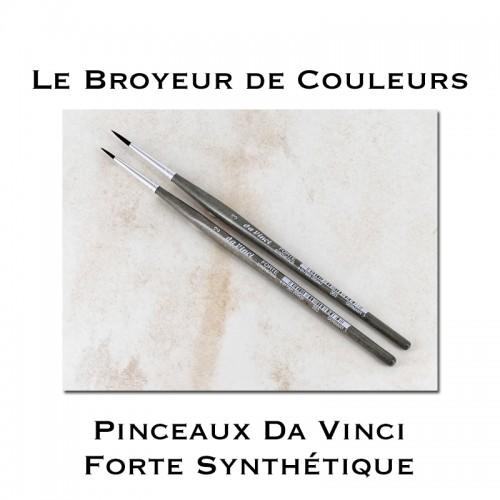 Pinceaux Synthétique Da Vinci Forte - T2 ou T3