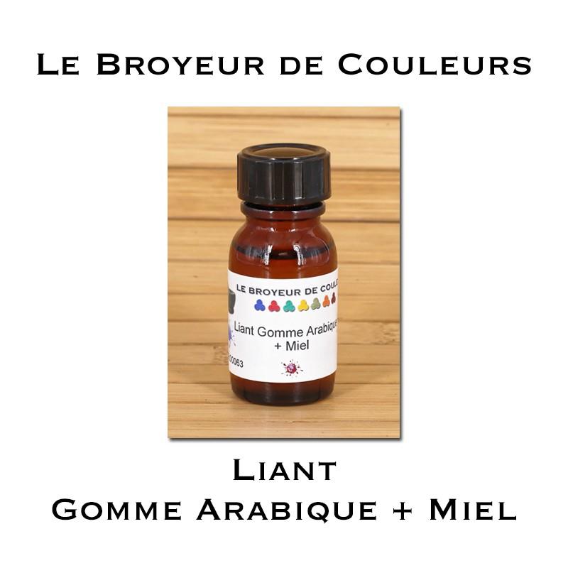 Liant Gomme Arabique + Miel 15 gr