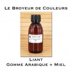 Liant Gomme Arabique + Miel 140 gr