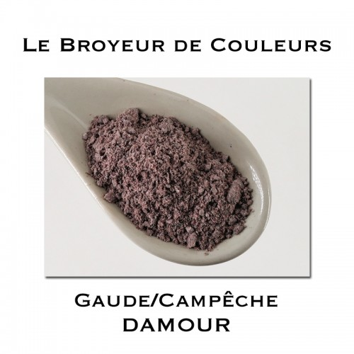 Pigment DAMOUR - Gaude + Campêche