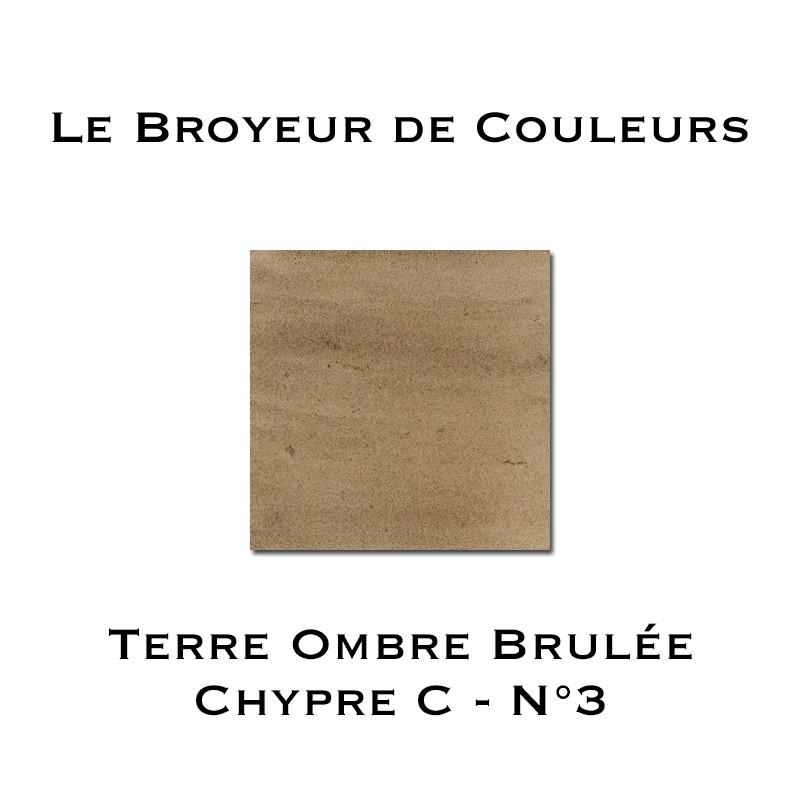 Terre d'Ombre Brulée Chypre N°3 - Type C