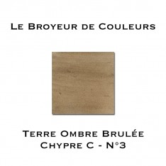 Terre d'Ombre Brulée Chypre N°3 - Type C