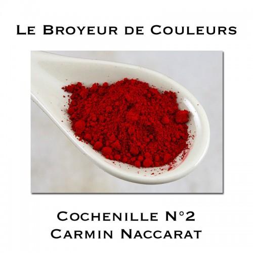 Pigment Cochenille N°2 - Carmin Naccarat