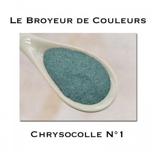 Pigment Chrysocolle N°1