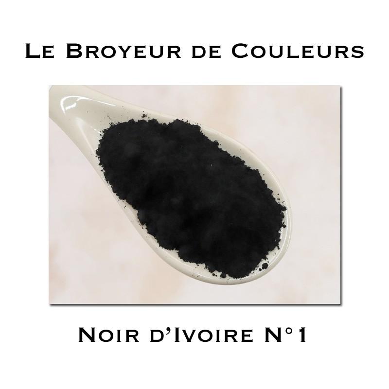 Pigment Noir d'Ivoire N°1