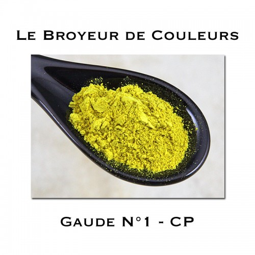 Pigment Gaude N°1 - CP