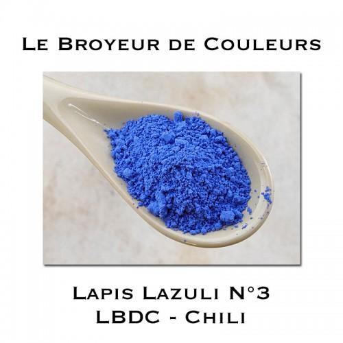 Pigment Lapis Lazuli N°3 - LBDC - Chili