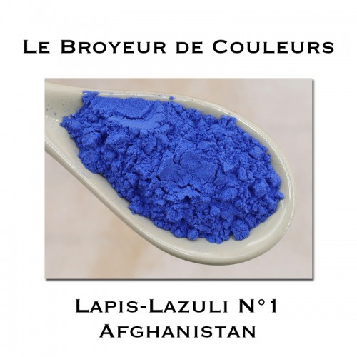 Pigment Lapis Lazuli N°1 - Afghanistan