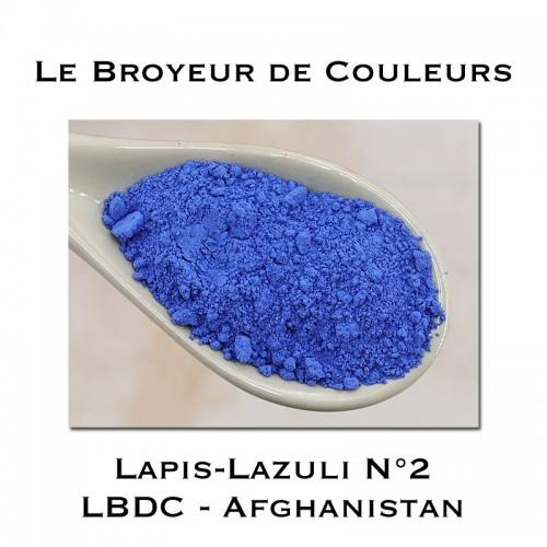 Pigment Lapis Lazuli N°2 - LBDC - Afghanistan