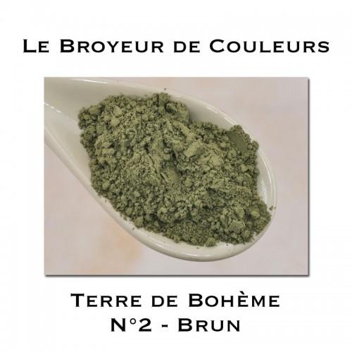 Pigment Terre de Bohème N°2 - Brun