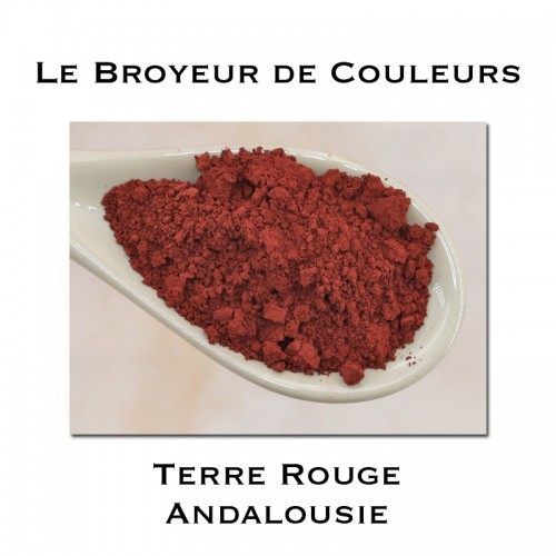 Pigment Terre Rouge Andalousie