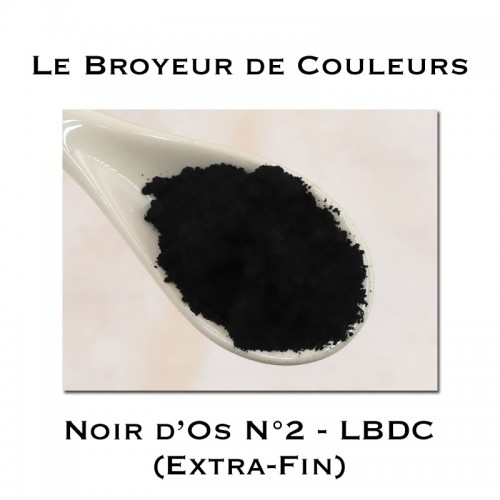 Pigment Noir d'Os N°2 - LBDC - Extra-Fin
