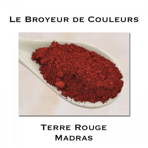 Pigment Terre Rouge de MADRAS