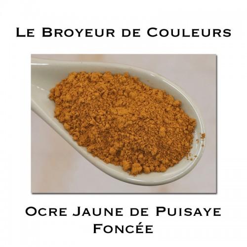 Pigment Ocre Jaune de Puisaye Foncée (Bourgogne)
