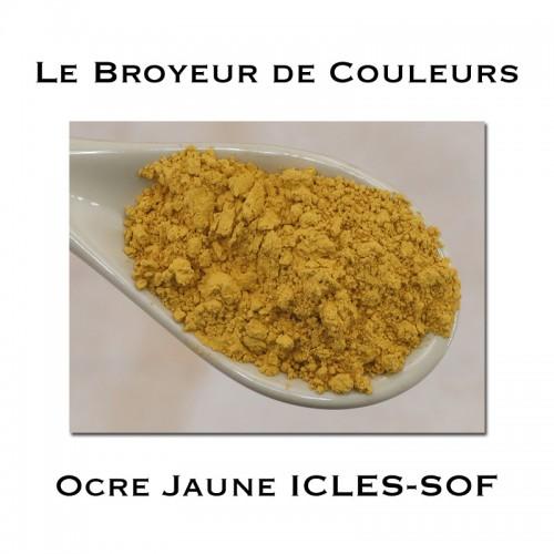 Pigment Ocre Jaune ICLES SOF