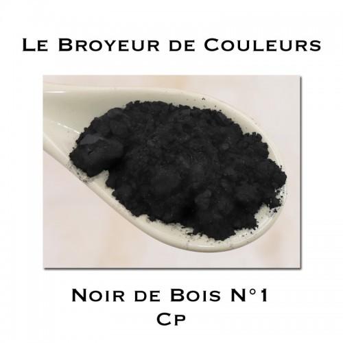 Pigment Noir de Bois N°1 - CP