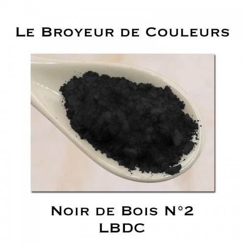 Pigment Noir de Bois N°2 - LBDC