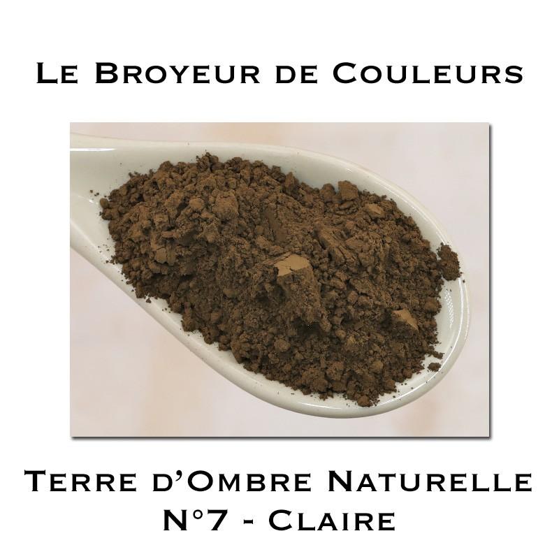 Pigment Terre d'Ombre Naturelle N°7 - Claire
