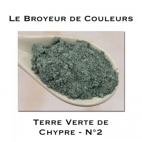 Pigment Terre Verte de Chypre N°2
