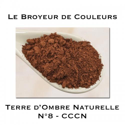Pigment Terre d'Ombre Naturelle N°8 - CCCN