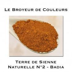 Pigment Terre de Sienne Naturelle N°2 -  Badia