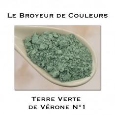 Pigment Terre Verte de Vérone N°1