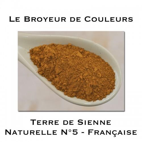 Pigment Terre de Sienne Naturelle N°5 - Française